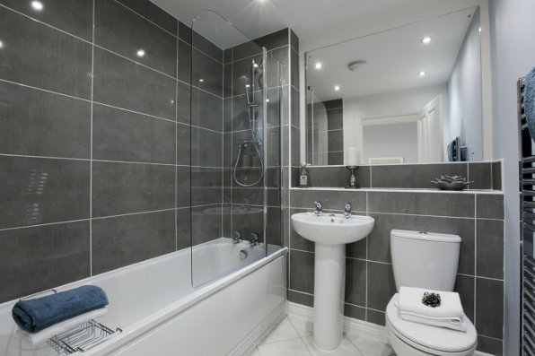 Beautiful bathrooms taylor wimpey for Beautiful houses interior bathrooms