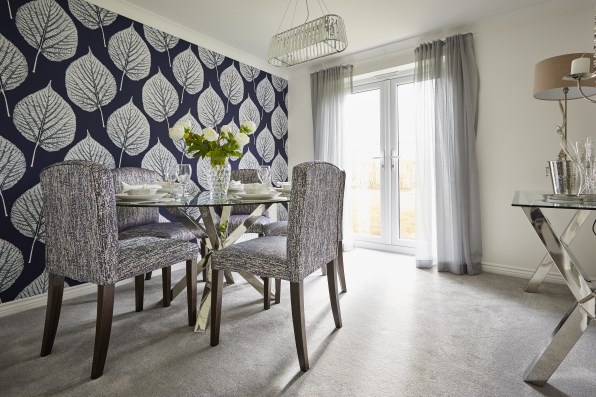 show home dining room | Visit our show homes | Taylor Wimpey