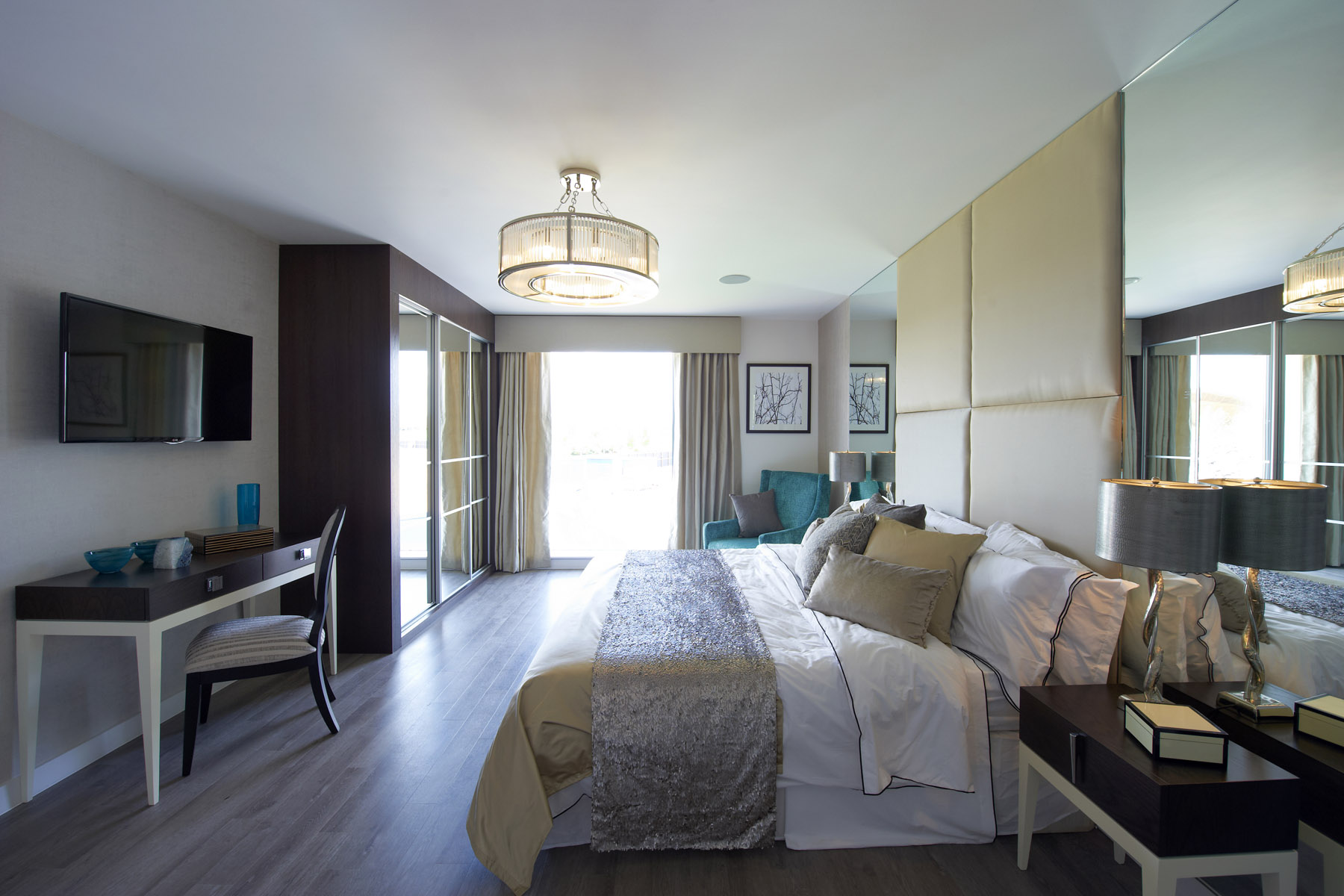 How to spend and save to create a boutique bedroom for Olympic homes