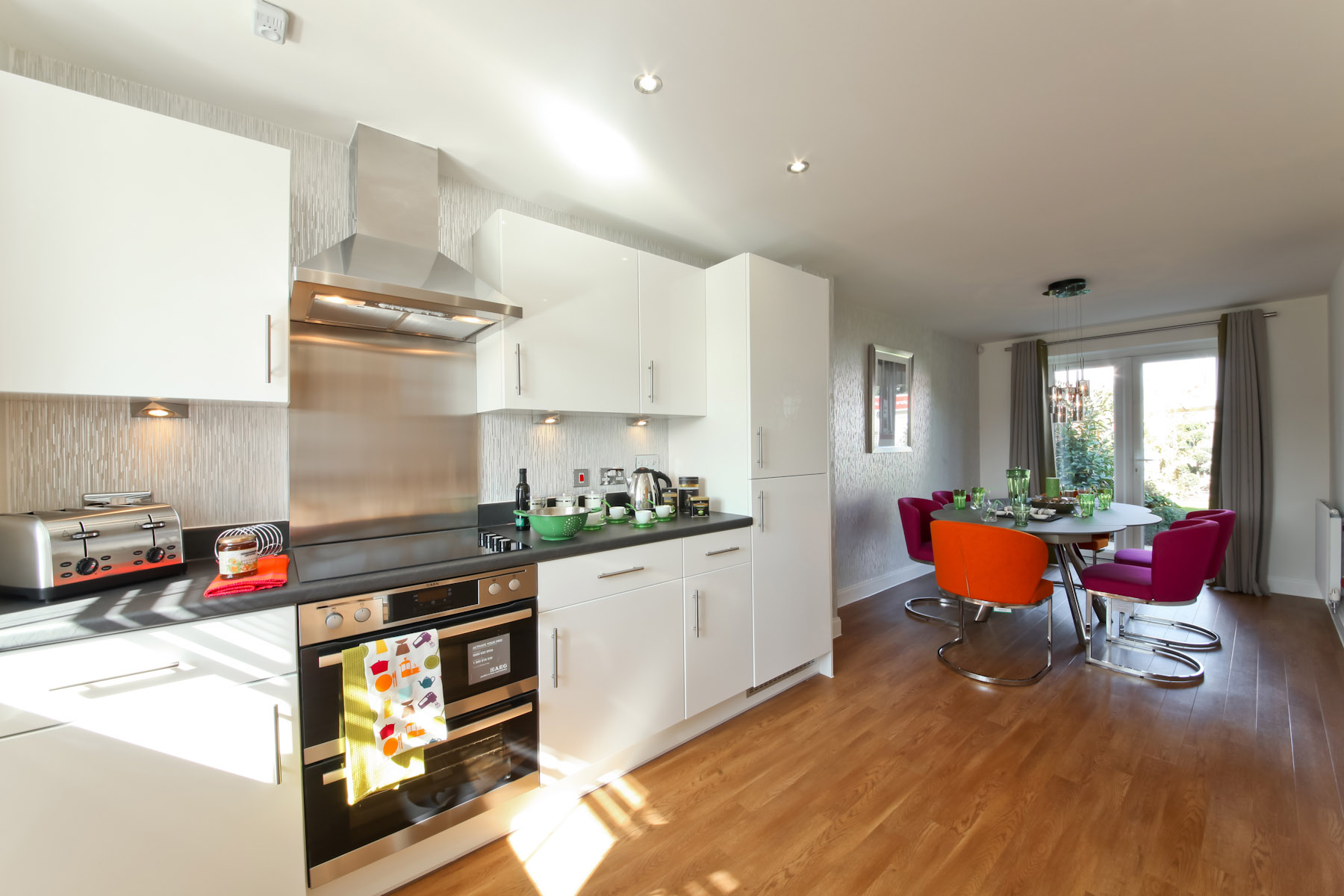 show home dining room | The Monkford - Plot 62 - Staunton Gate, Alresford - Taylor ...