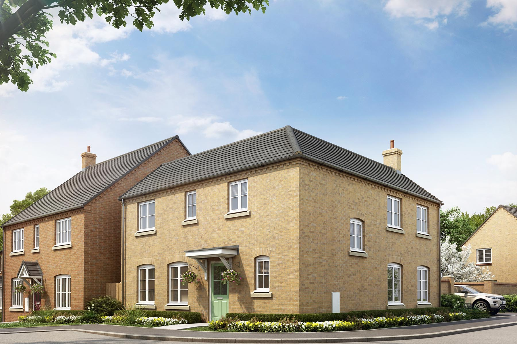 Windmill Meadow - New Homes in Branston | Taylor Wimpey