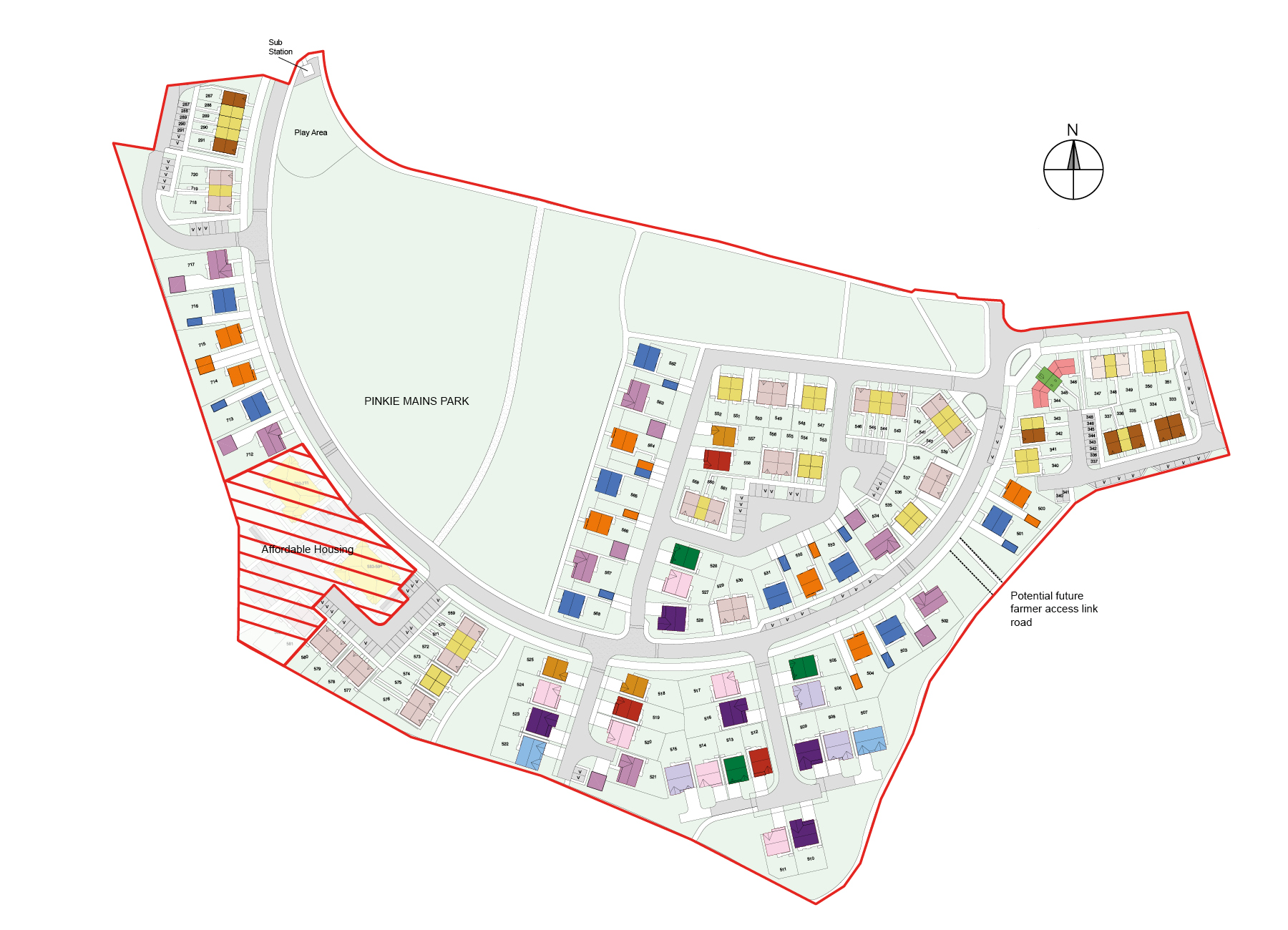 Taylor Wimpey Floor Plans The Blair End Plot 718 Taylor Wimpey