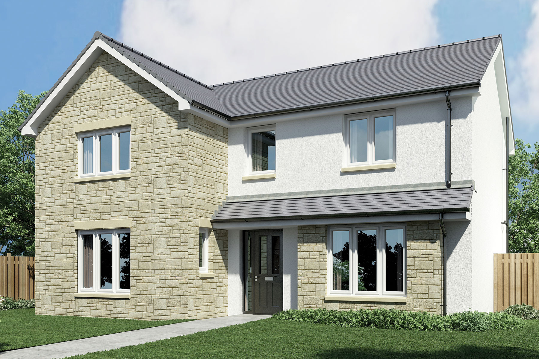 Wallace Grange New Homes In Dunfermline Taylor Wimpey
