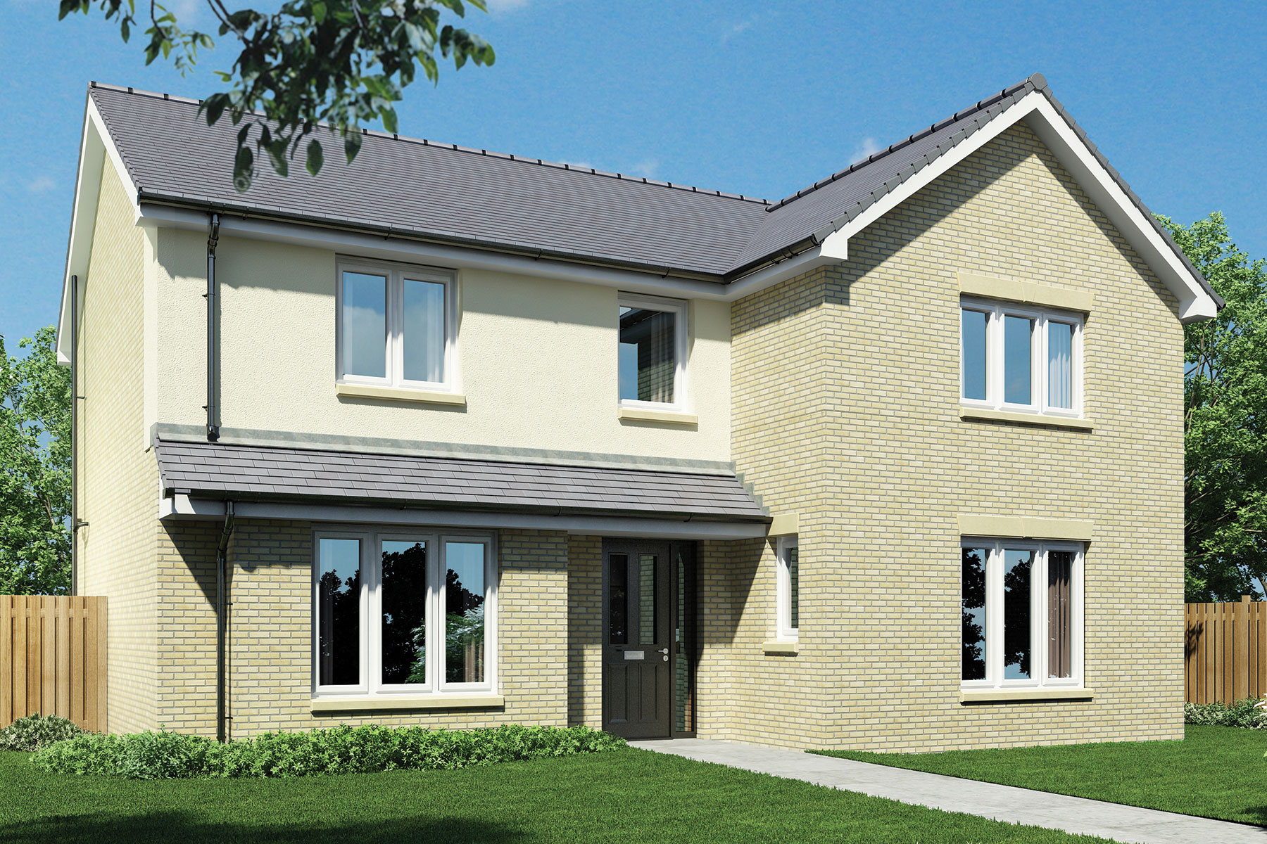 Taylor Wimpey Wallace Grange New Homes For Sale In