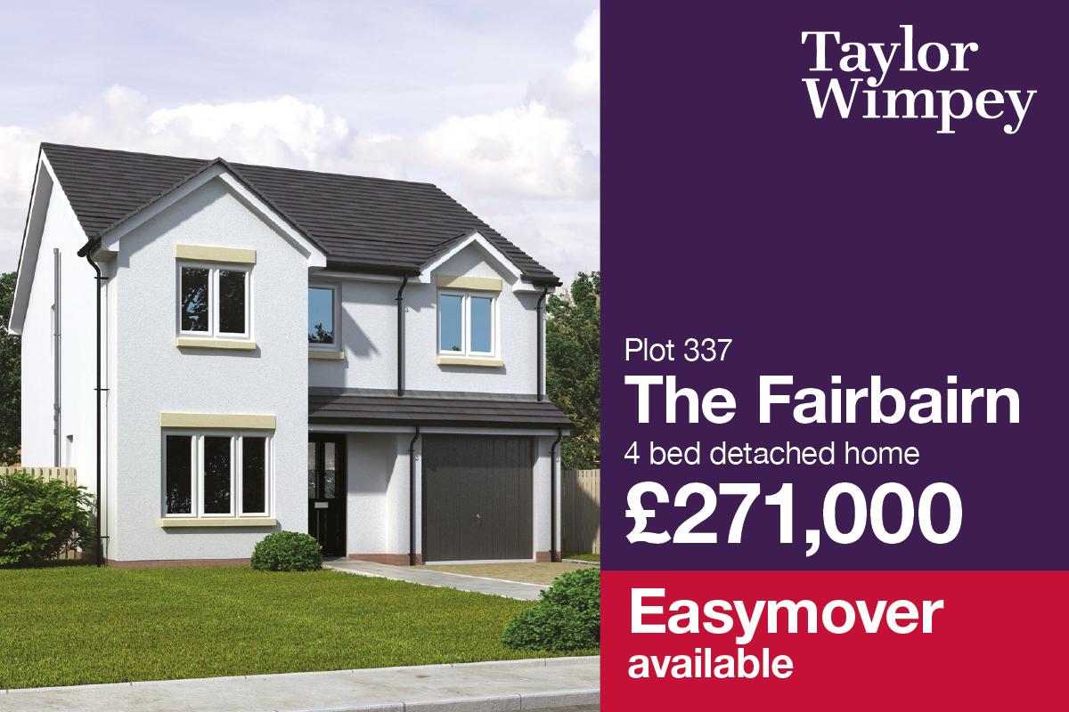 New Homes Bonnyrigg Midlothian