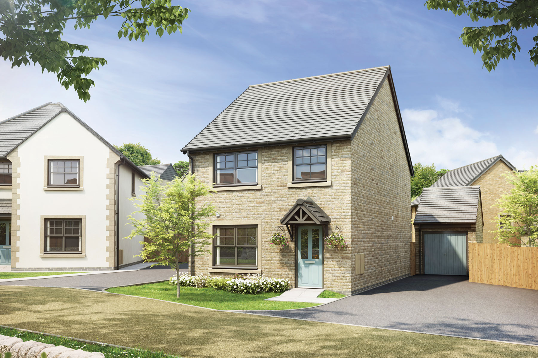 Half penny meadows taylor wimpey for One penny homes
