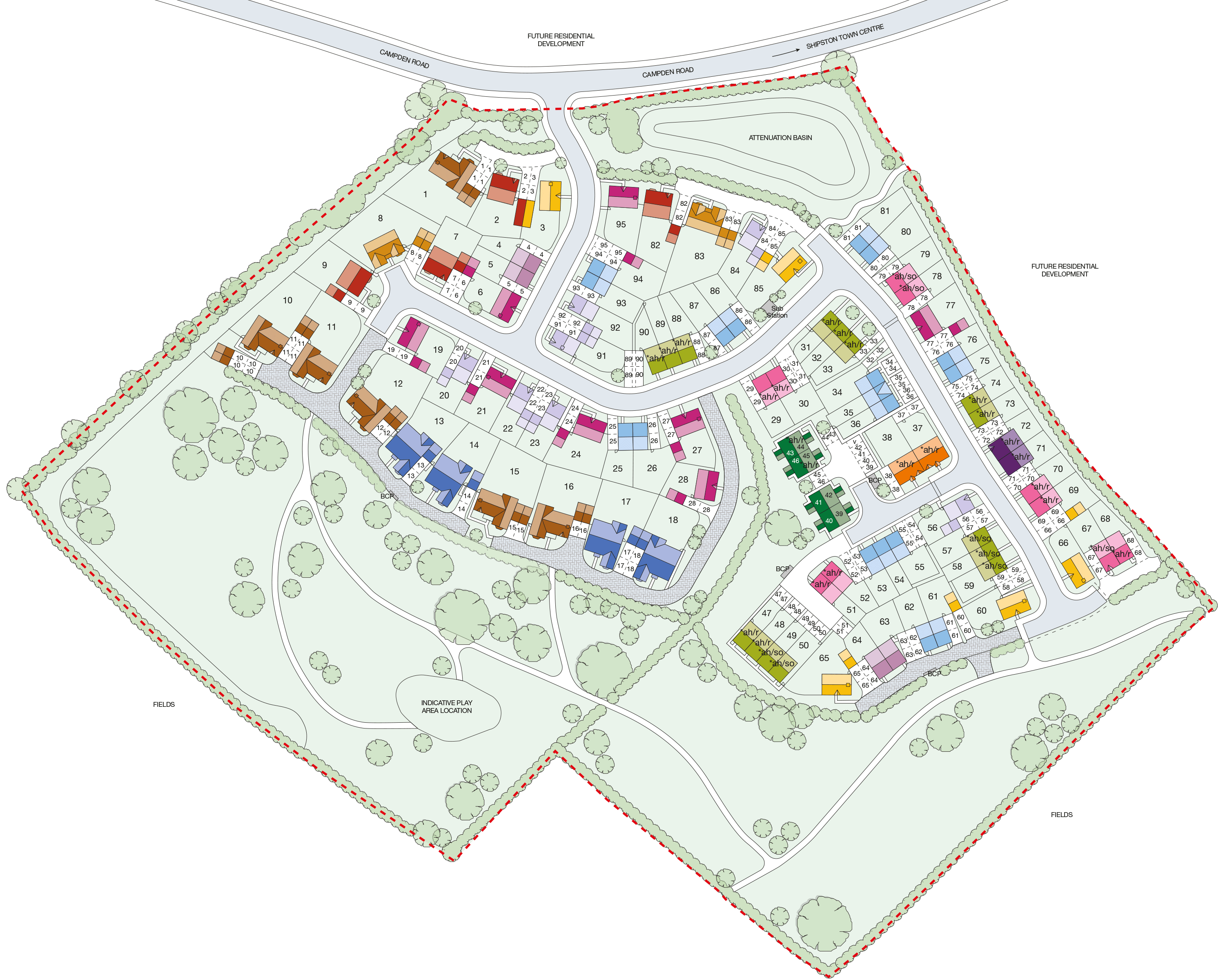 Plot 9 Shelford Taylor Wimpey