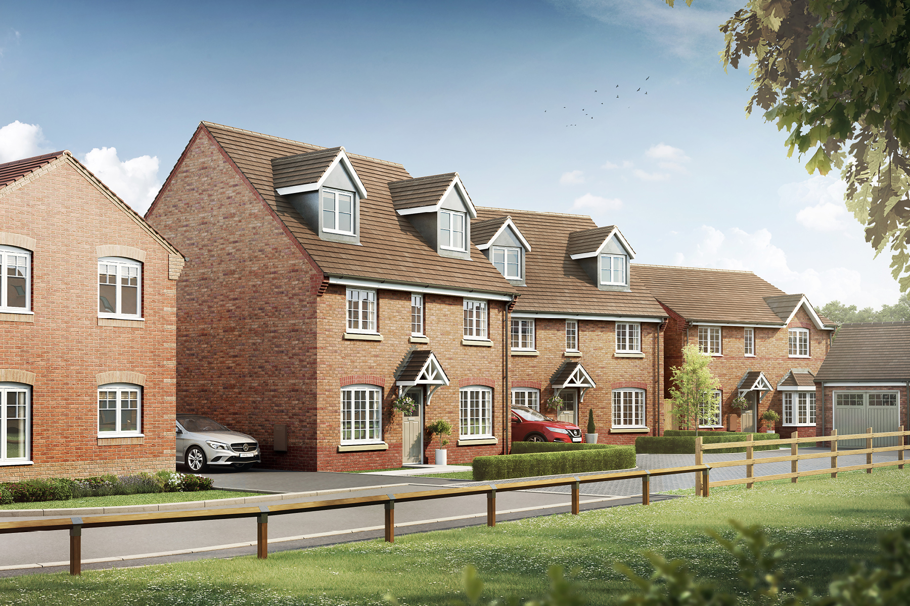 Meadowsweet Farm - New homes in Leamington Spa | Taylor Wimpey
