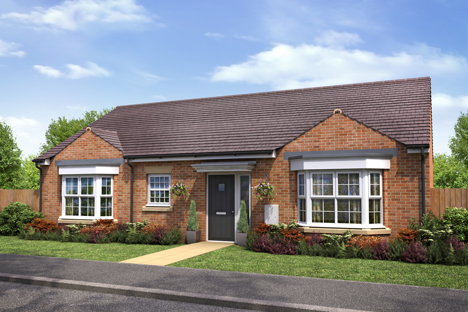Castle vale taylor wimpey for Bungalow show homes