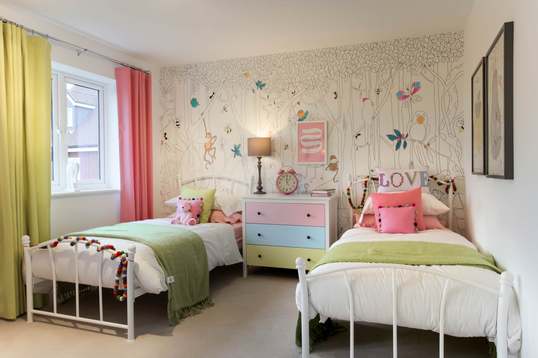 Show Home Bedroom How To Design A Childs Room Taylor Wimpey