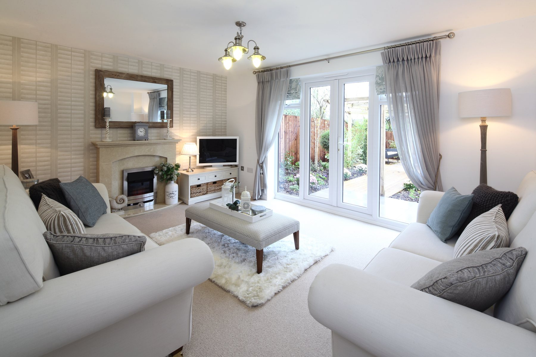 Living Room Shows Property New Homes In Poultonlefylde  Taylor Wimpey