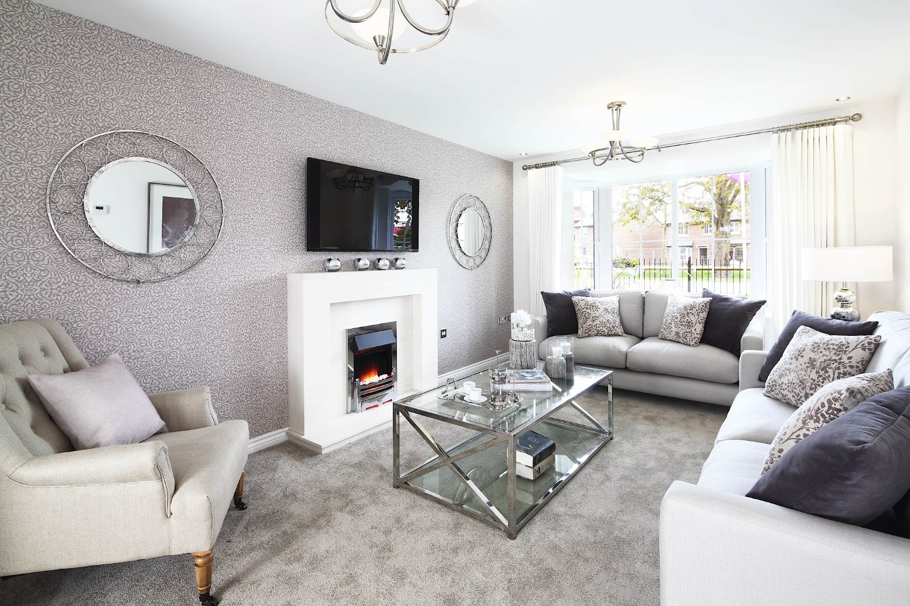 show home living rooms hayfield park new homes in cottam wimpey 17137