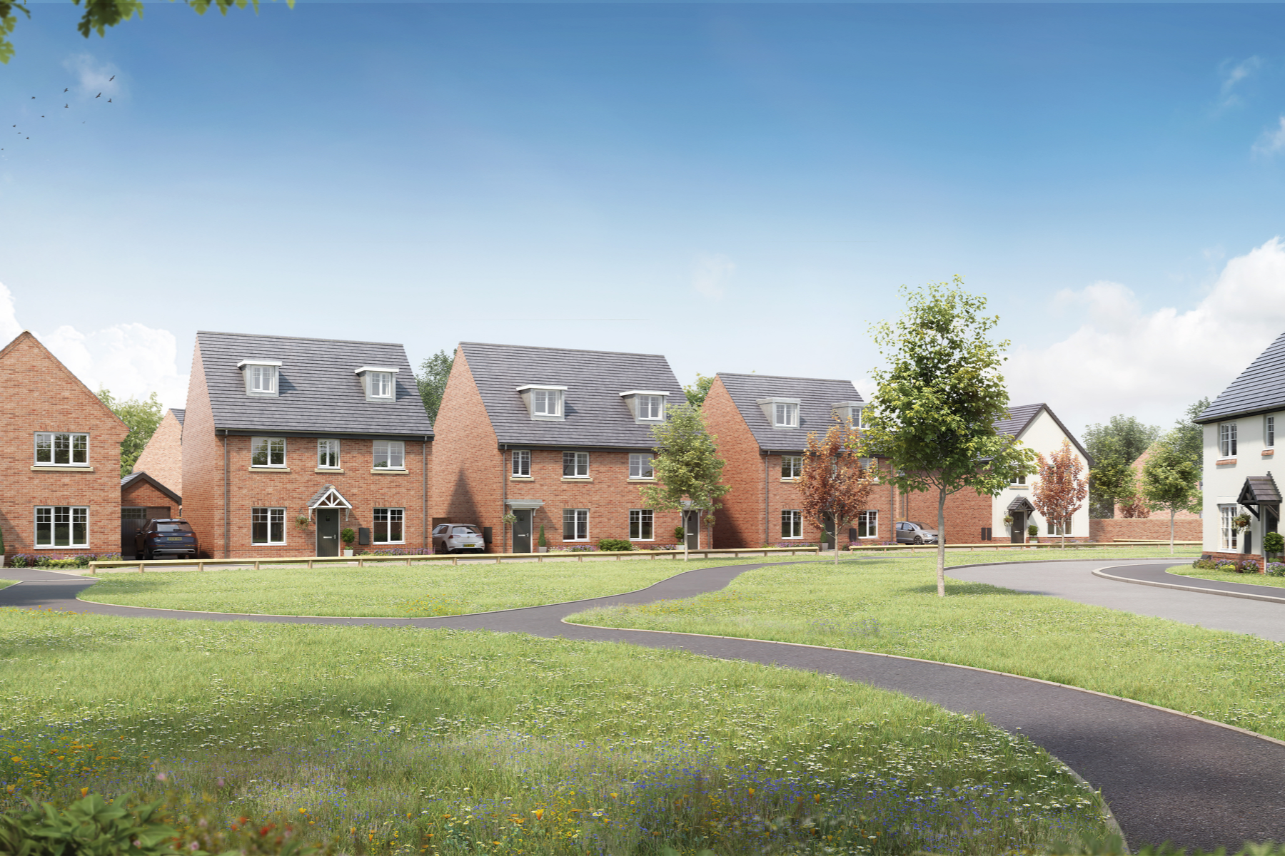 Kings Moat Garden Village New Homes In Chester Taylor Wimpey
