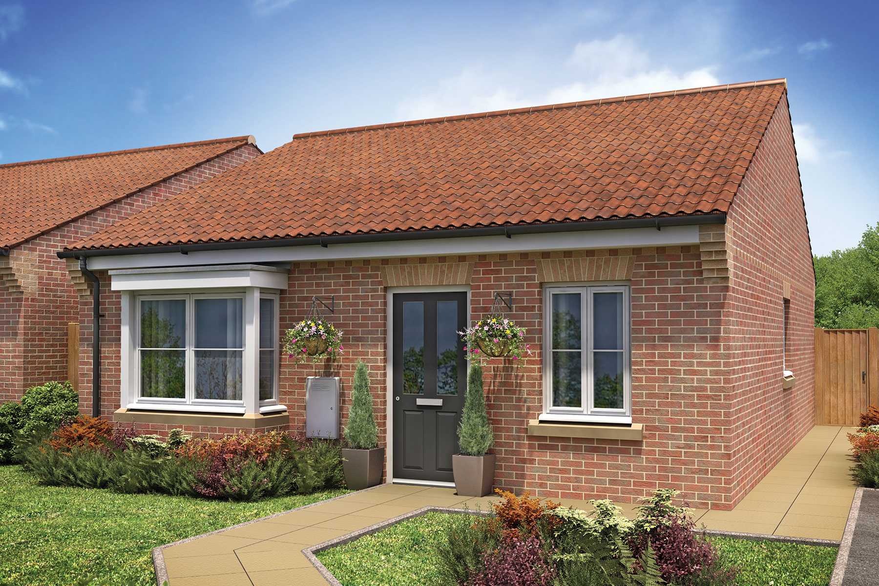 Galley hill taylor wimpey for Bungalow show homes