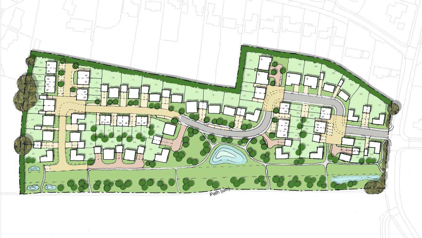 Outstanding Housing Estate Layout Plans Ideas - Exterior ideas 3D ...