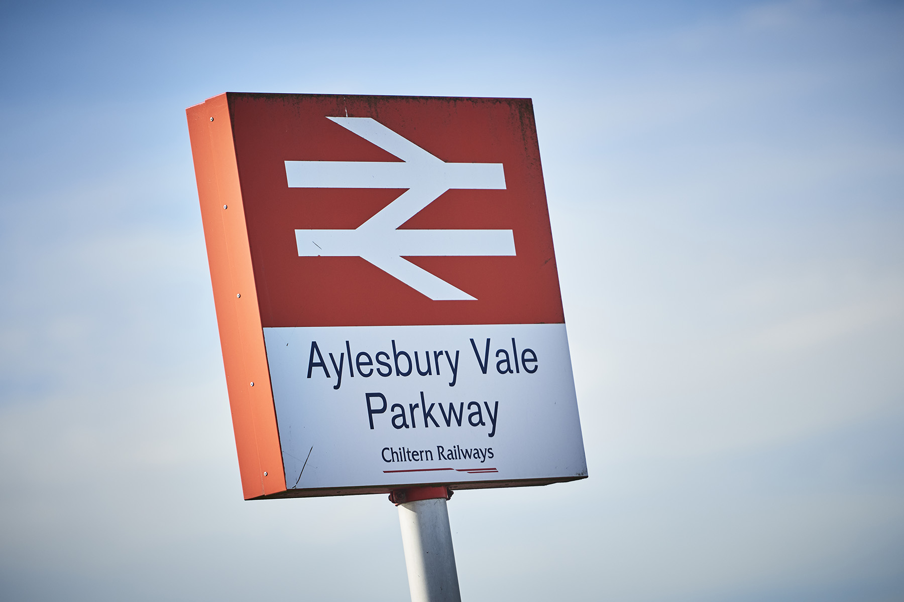 Image result for aylesbury vale parkway sign
