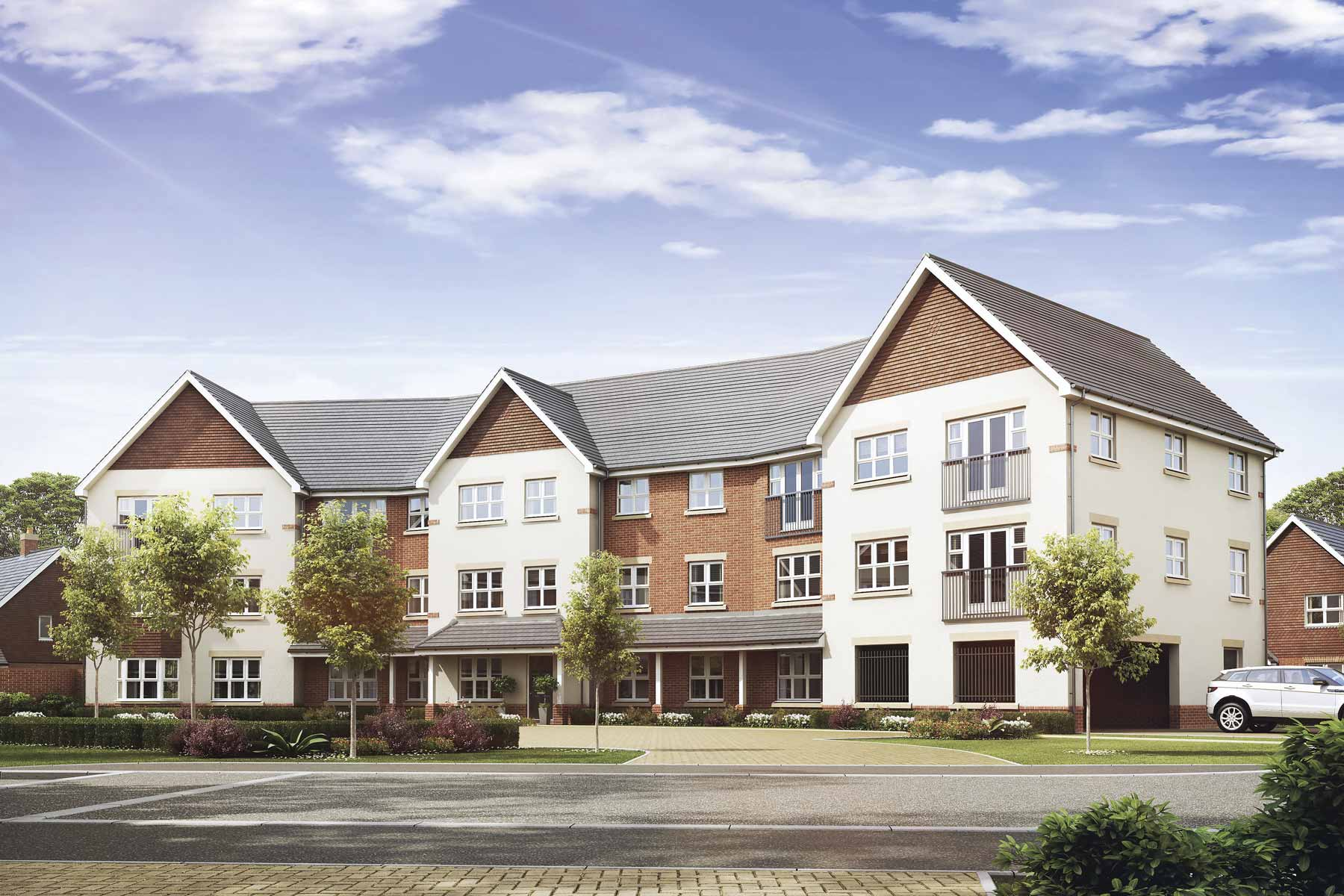 2 bedroom low cost apartments in Andover | Taylor Wimpey