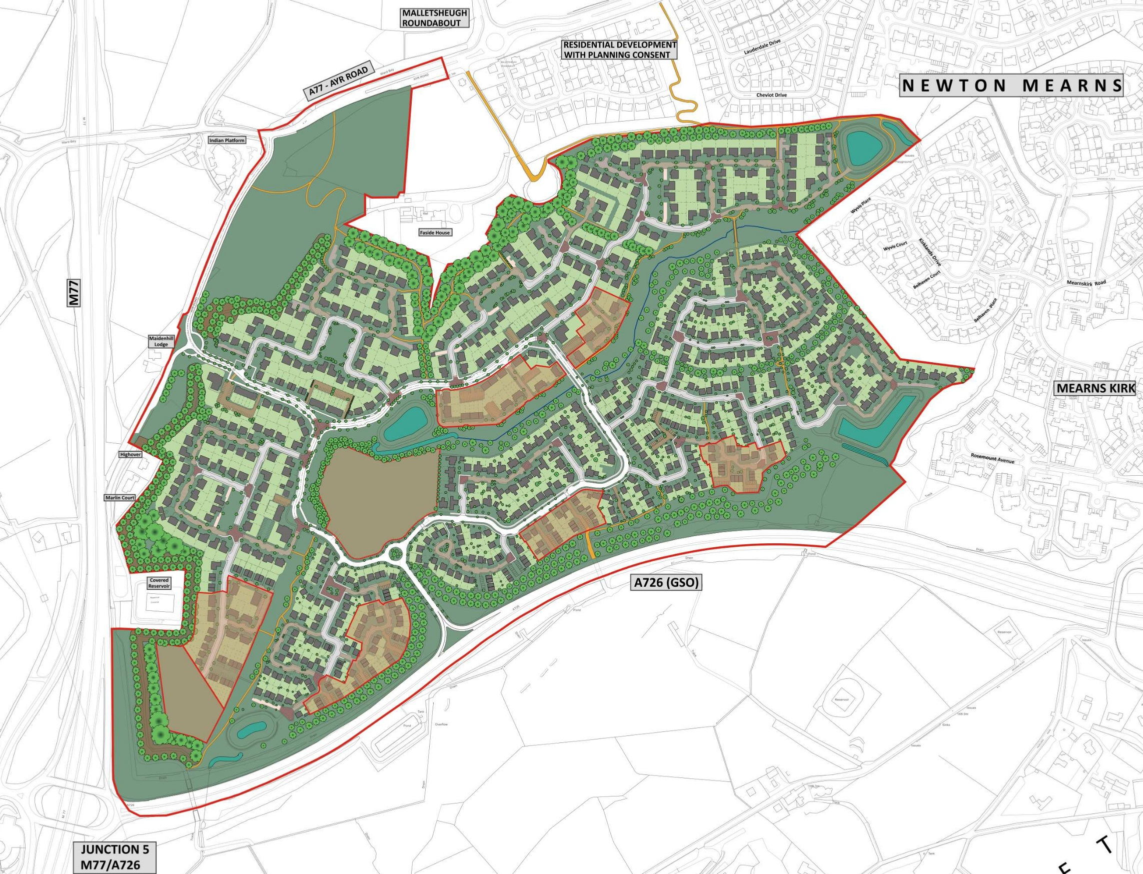 Maidenhill Masterplan
