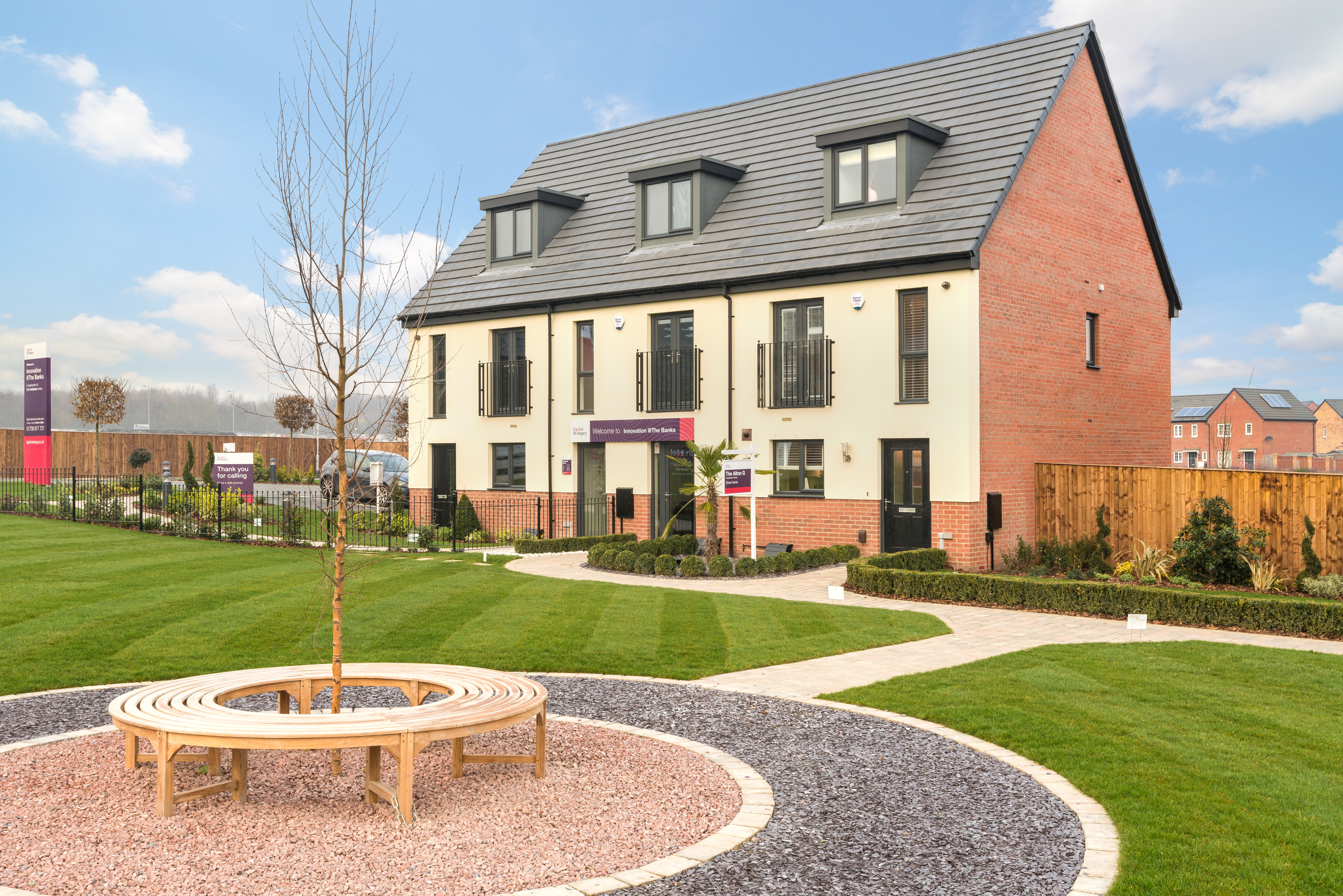 Innovation At The Banks Rotherham Taylor Wimpey
