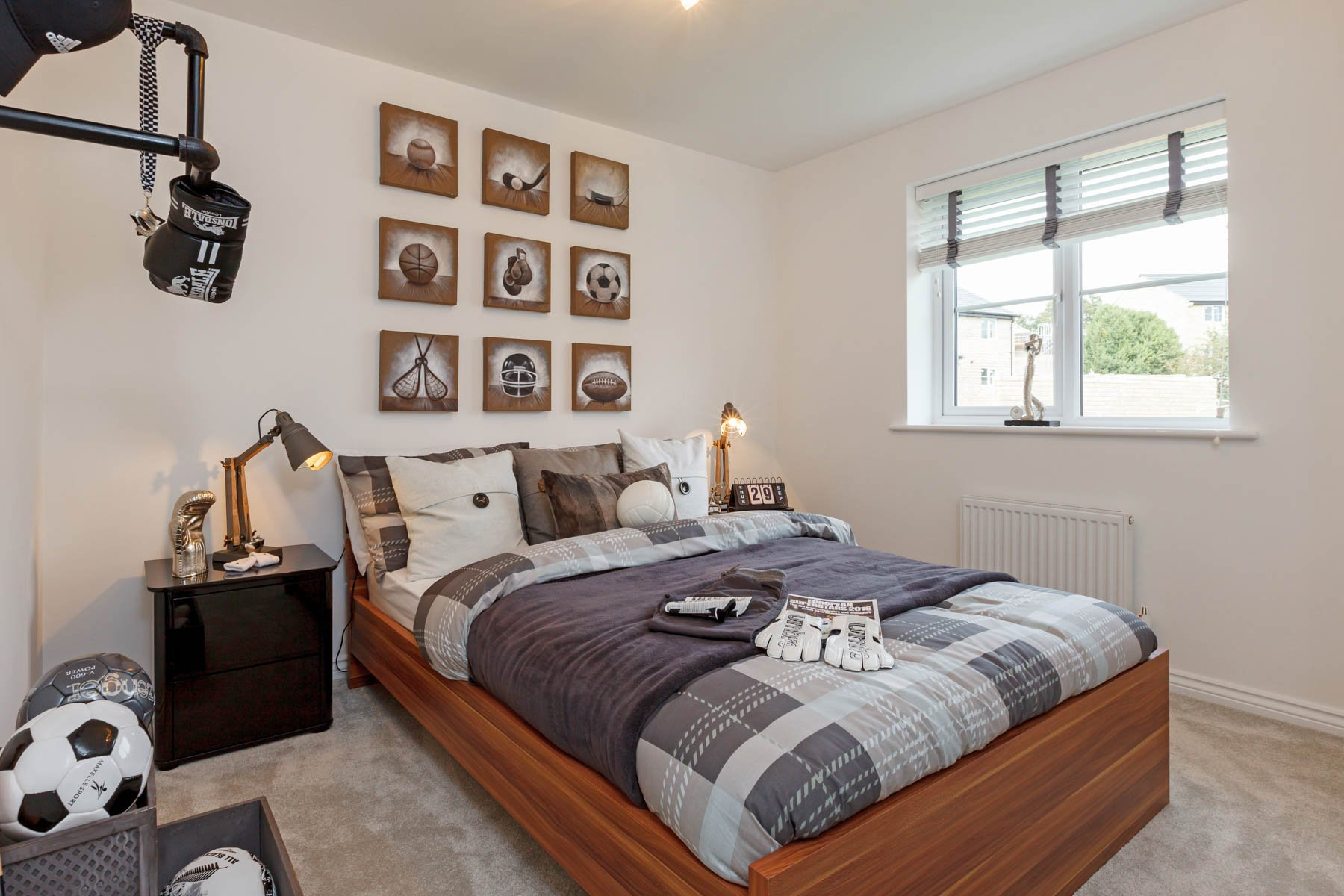 High Quality Rugby Bedroom