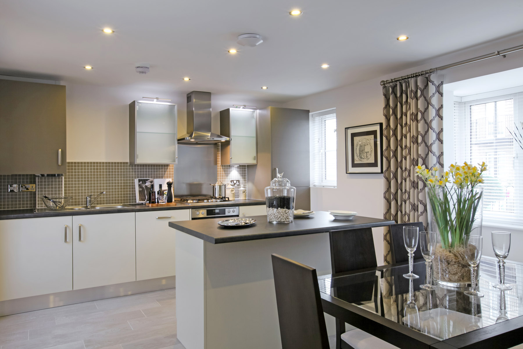 Make it yours with a modern twist on a neutral colour for Neutral kitchen colour schemes