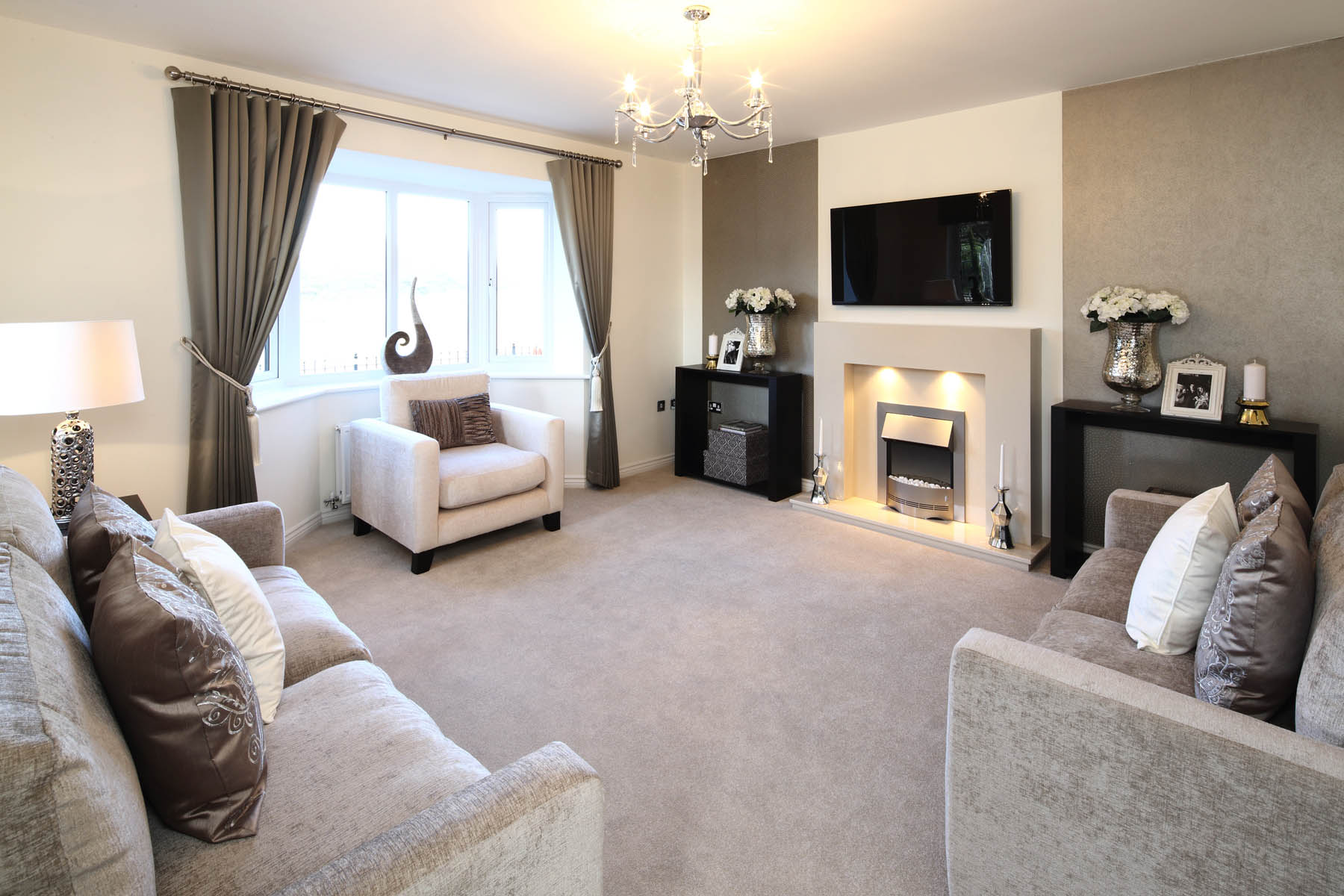 show home living rooms the groves new homes in penyffordd wimpey 17137