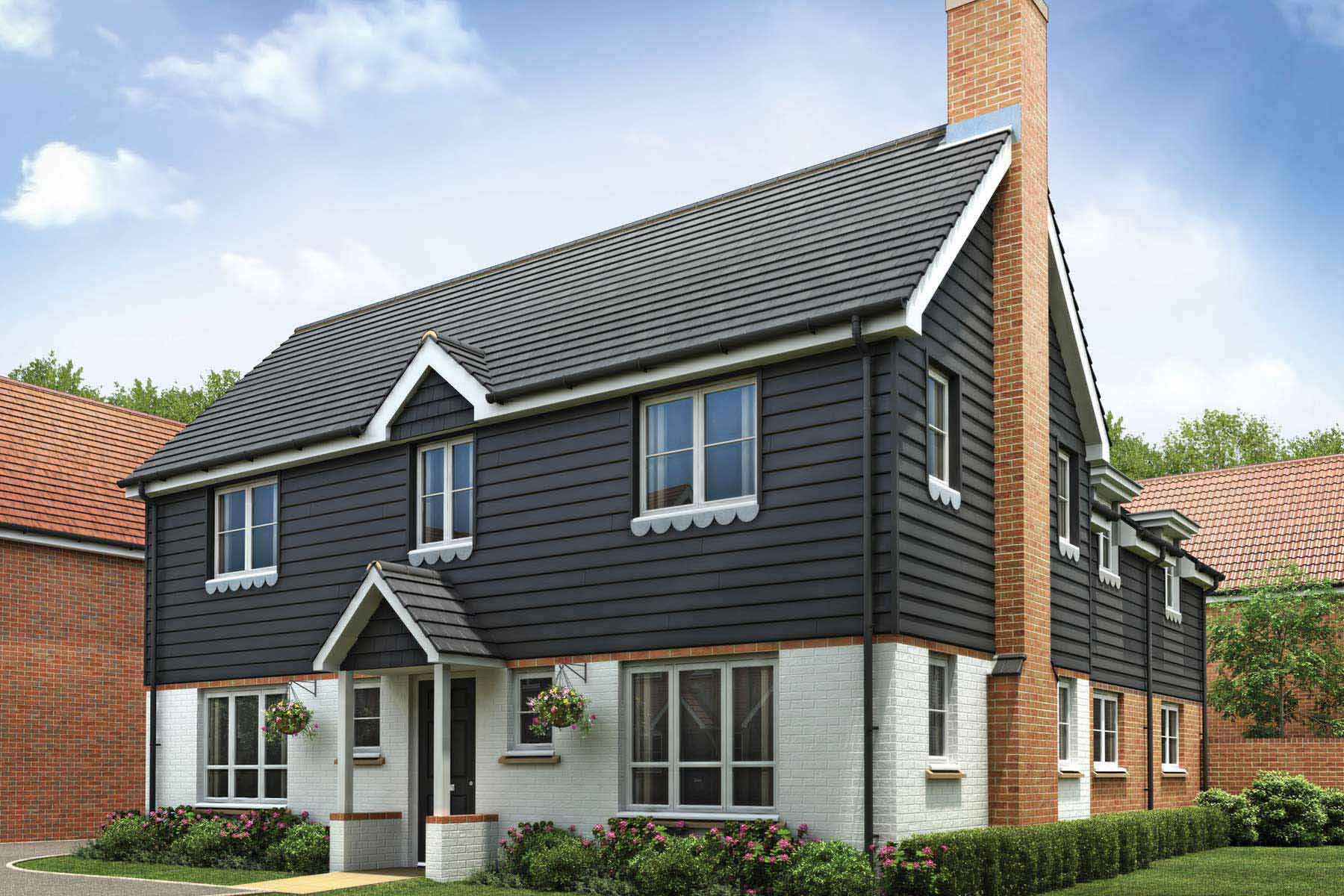 The langdale four bedroom home Home furniture and more in langley park
