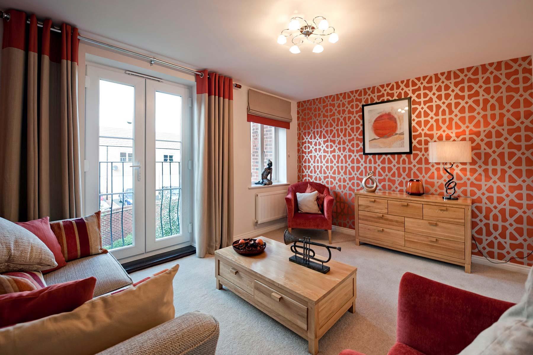 Burnt orange orange color and how to decorate on pinterest Burnt orange living room color schemes