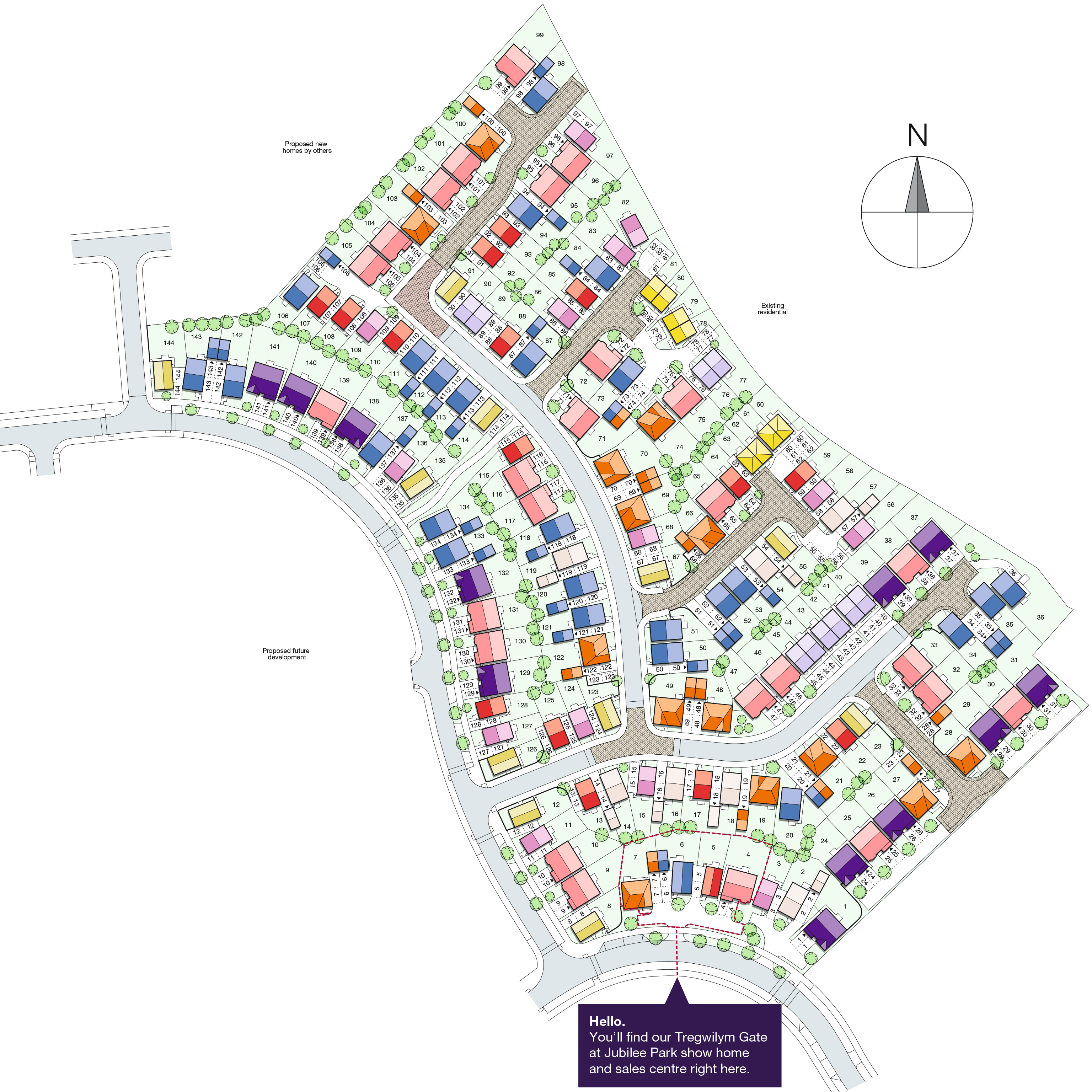 House Finding Websites: Tregwilym Gate - New Homes In Rogerstone
