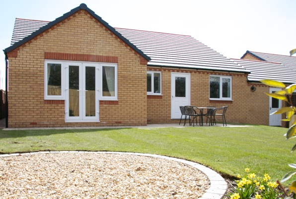 Swallows Heritage back garden