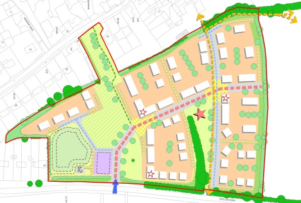 Honeybourne 1 - masterplan