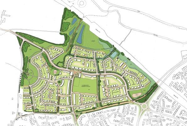 Ridgeway Farm 1 - masterplan