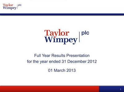 FY 2012 presentation cover