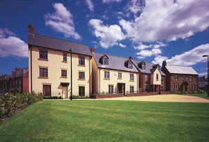New homes at Taylor Wimpey's Wenlock Square in Telford