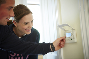 Taylor Wimpey thermostat demonstration