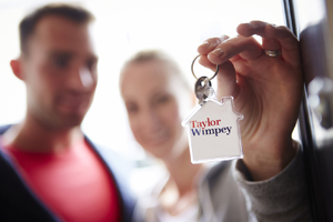 Taylor Wimpey keyring