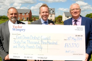 Taylor Wimpey - Cranbrook - S106 Contribution - May14 2