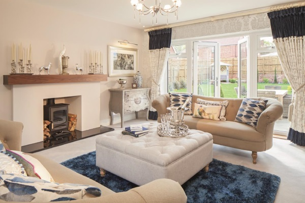 Taylor Wimpey Dovecote Place - showhome interior - web