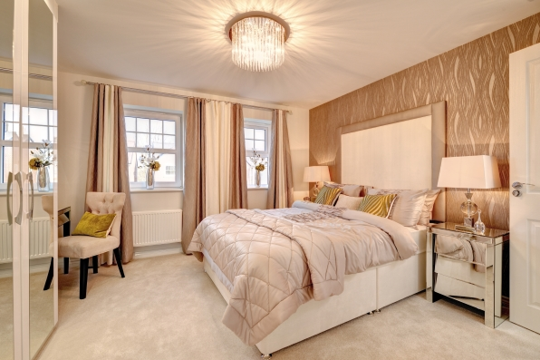 2015 interior design trend - Copper and bronze bedroom