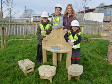 Taylor Wimpey - West Point - Storytelling Chair Donation WEB