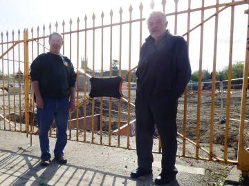 WEB - Old Great Western Railway depot Gates - 1