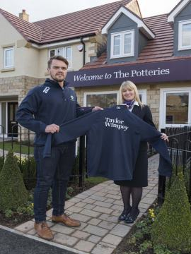 WEB Jamie Dixon Tynedale RC vice captain Sharon Parker The Potteries sale