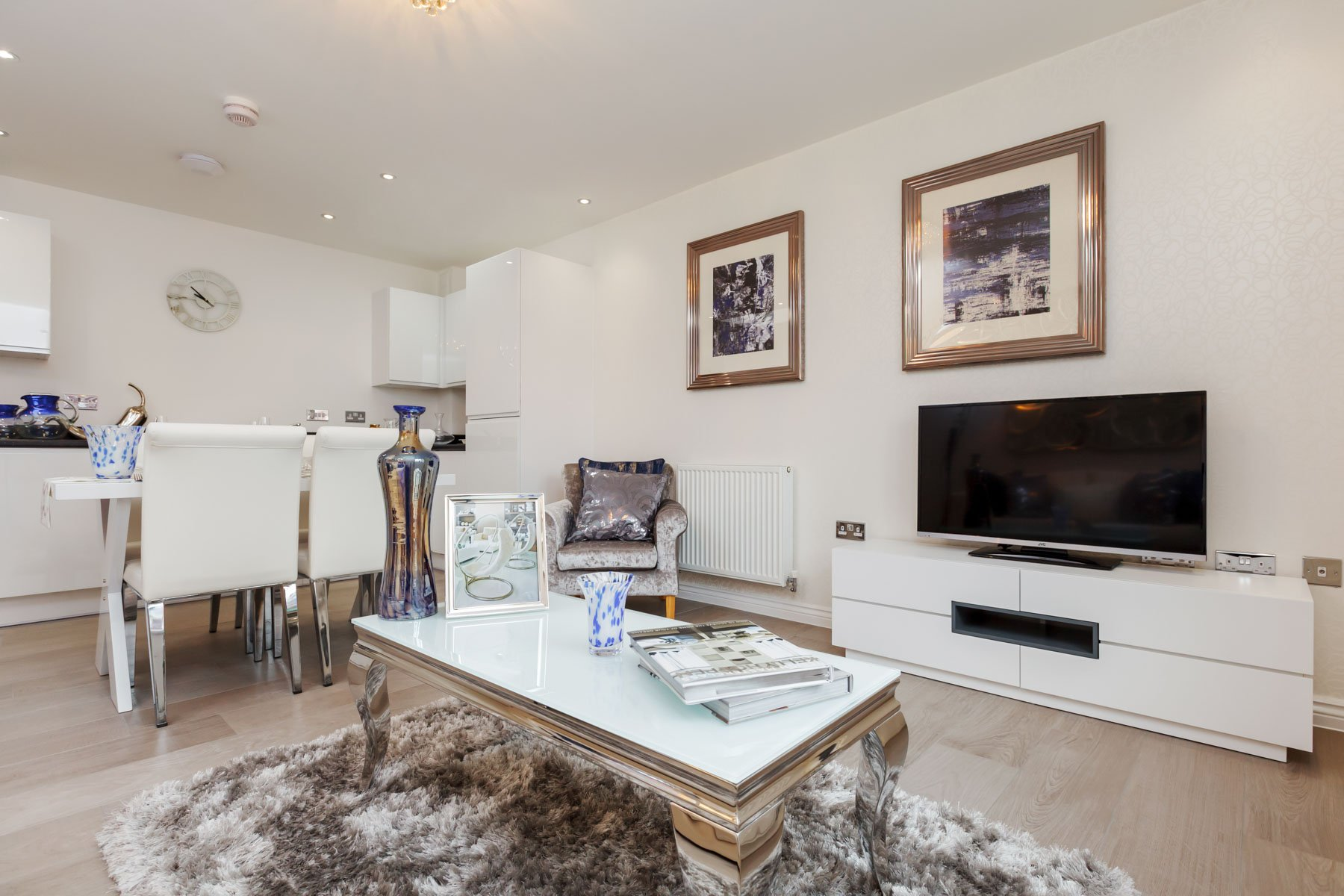 Typical Taylor Wimpey home - Lounge and dining area