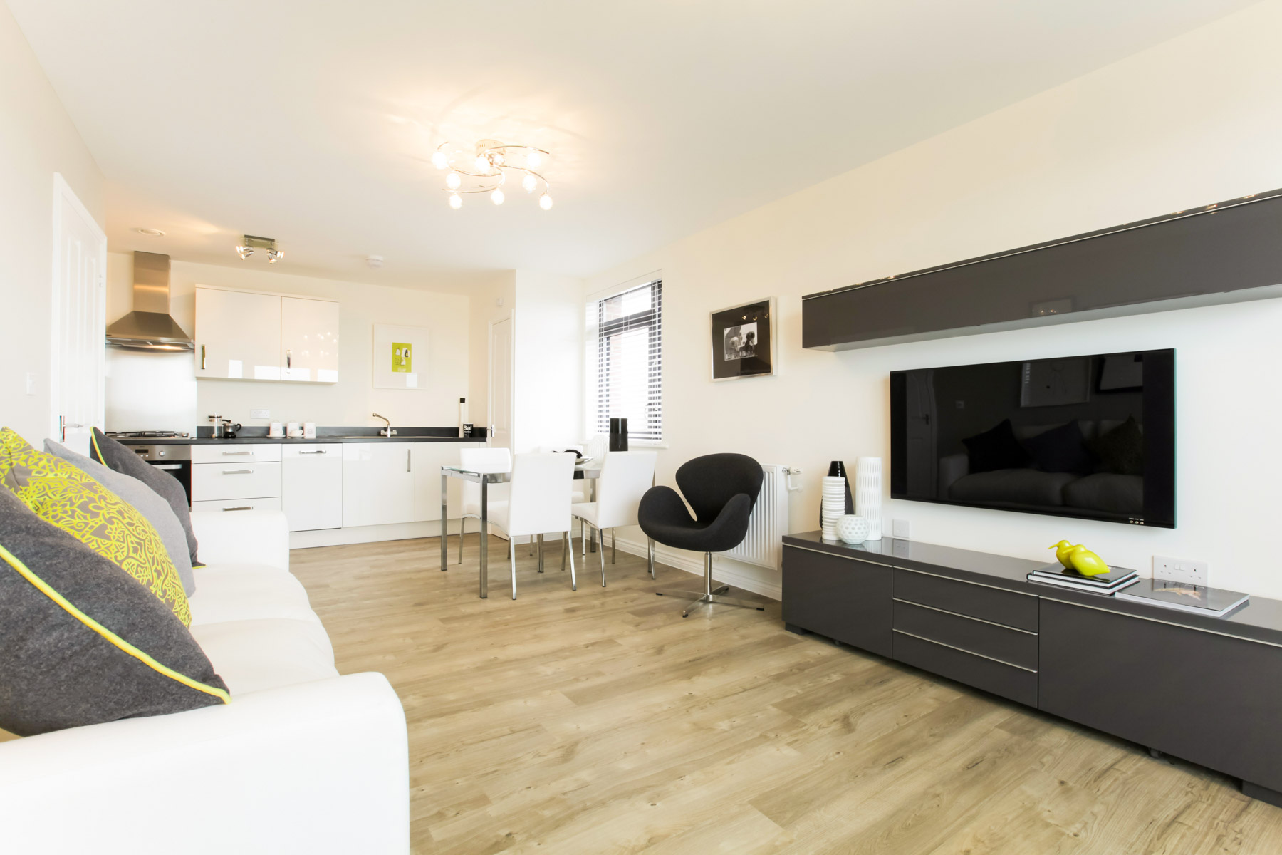Typical Taylor Wimpey home - Living Area