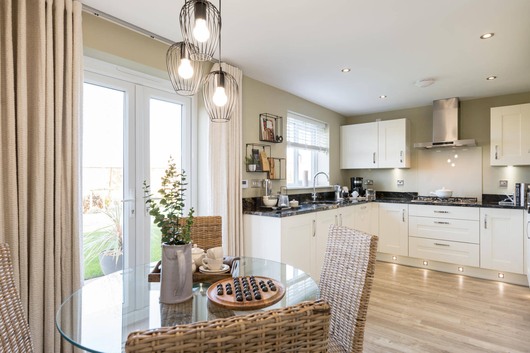 Typical Taylor Wimpey home - Kitchen Diner