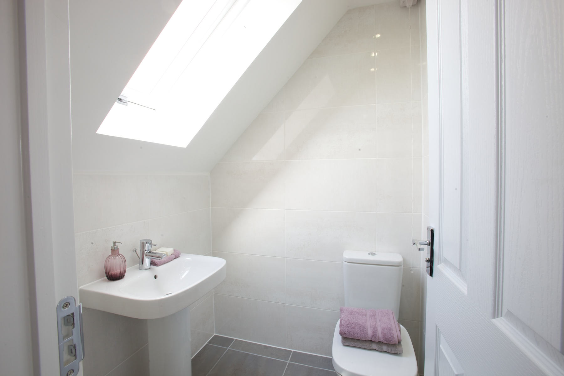 Kings Copse show home - En suite