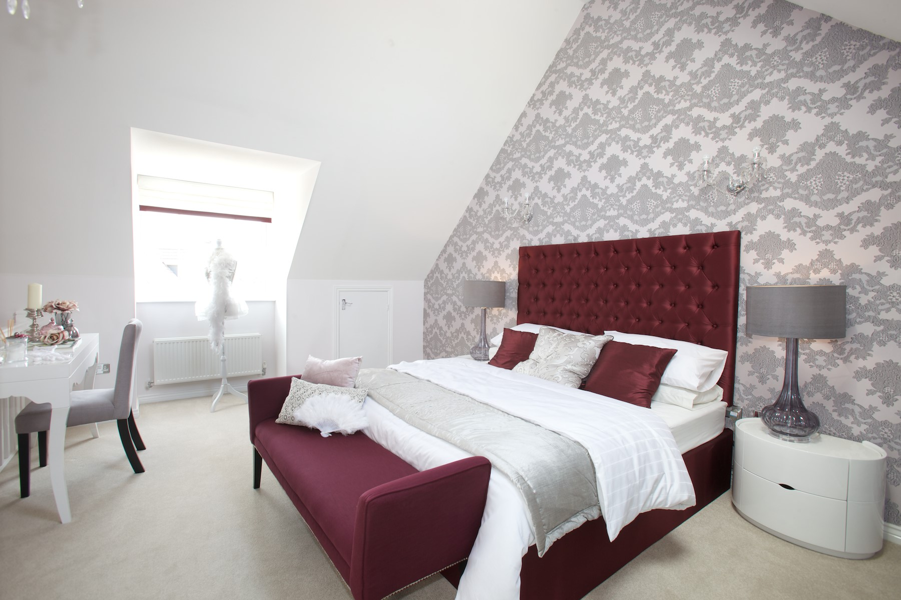 Kings Copse show home - Master bedroom