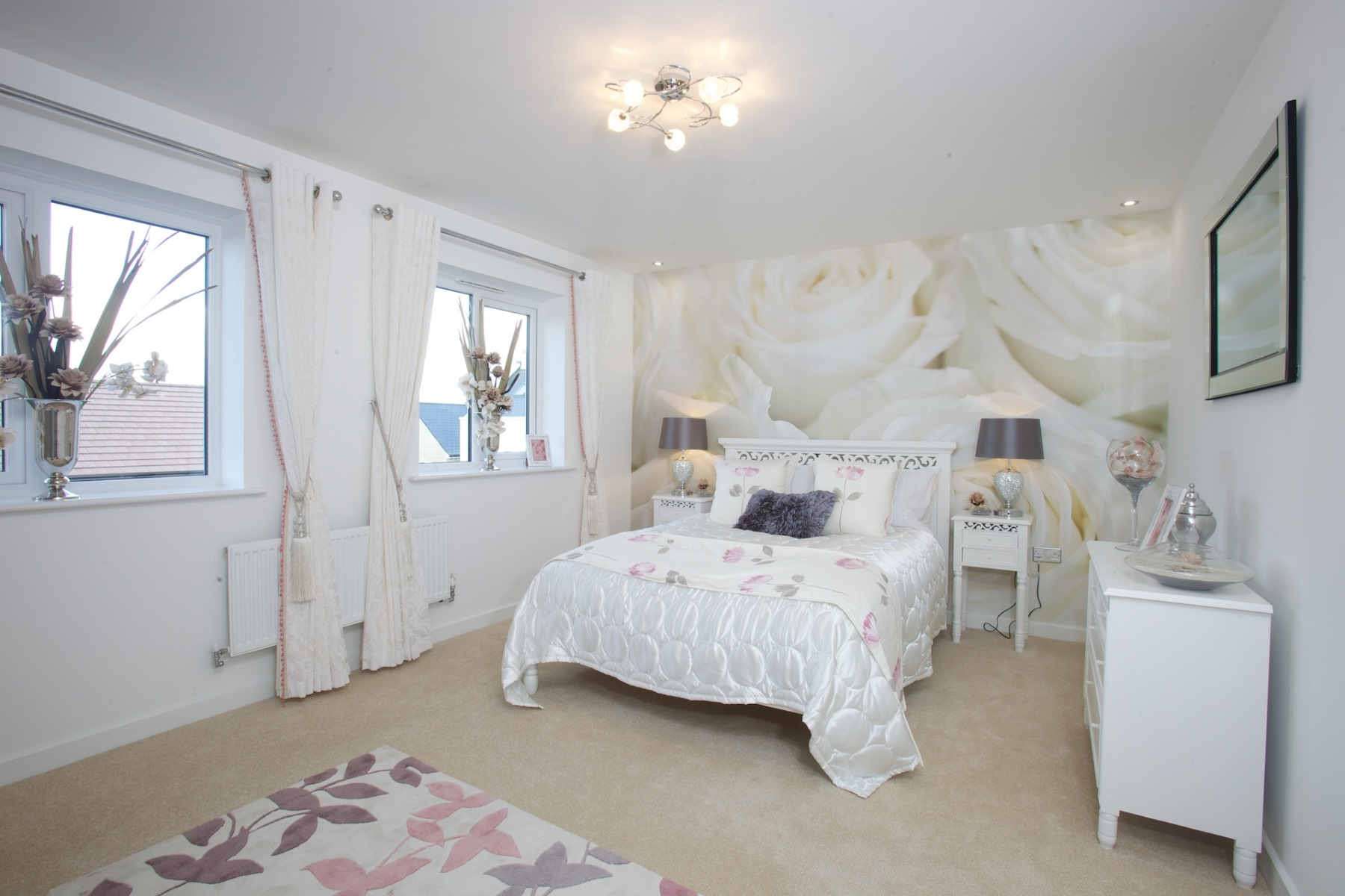 Typical Taylor Wimpey home - Bedroom