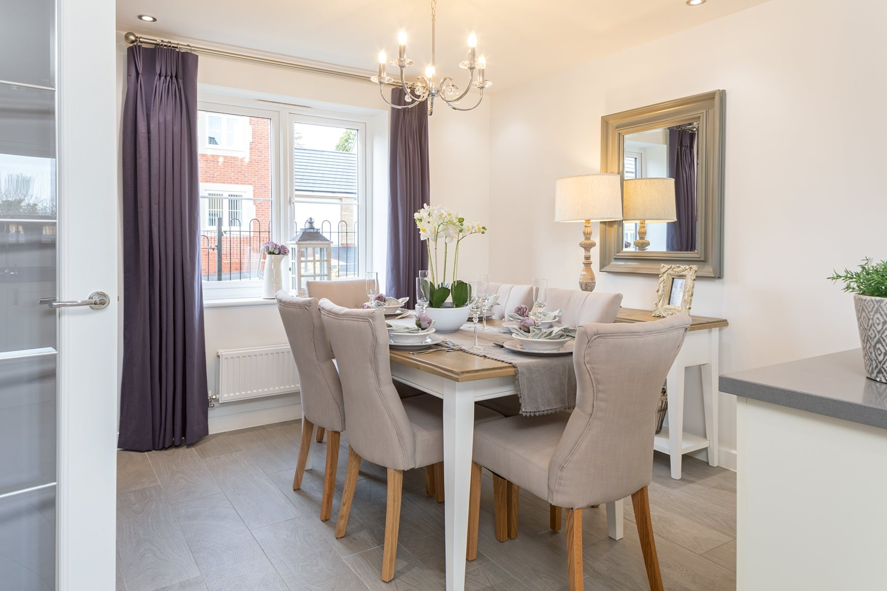 Typical Taylor Wimpey home - Dining Area