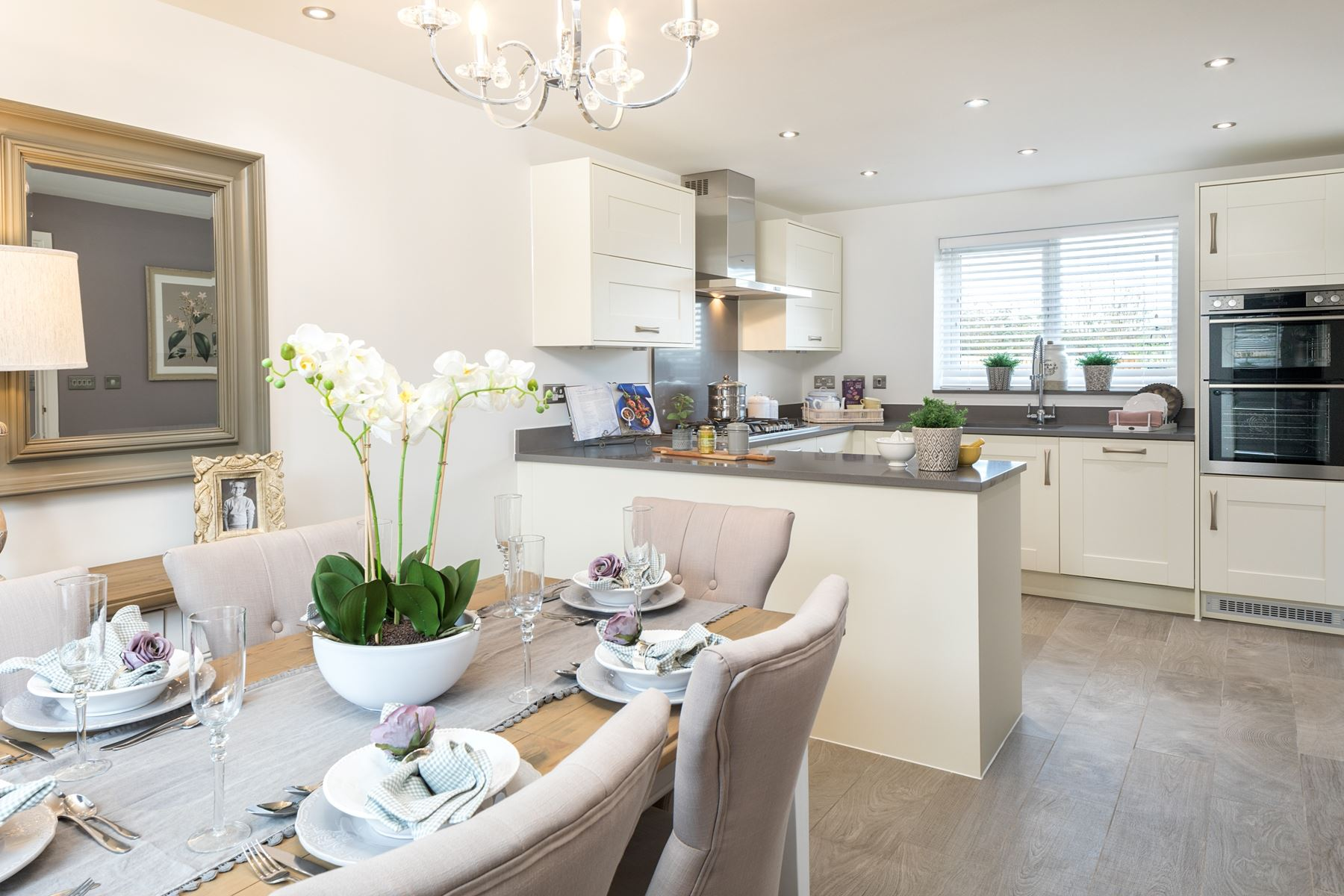 Typical Taylor Wimpey home - Kitchen/Diner